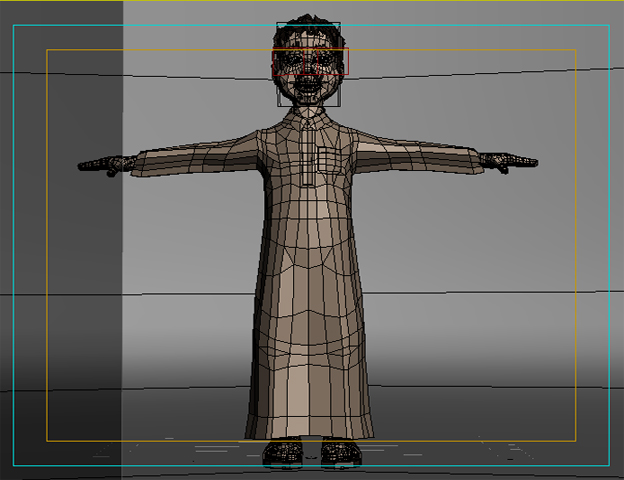 arabic boy 3d model 3ds max fbx obj 116844