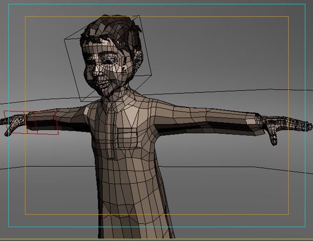 arabic boy 3d model 3ds max fbx obj 116845