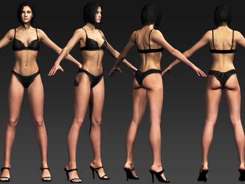 ashley 3d modelis max 113939