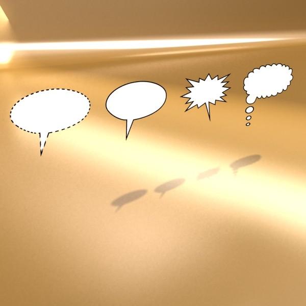 23 ярианы цуглуулгатай бөмбөлөгүүд. 3d загвар 3ds max fbx obj 132124