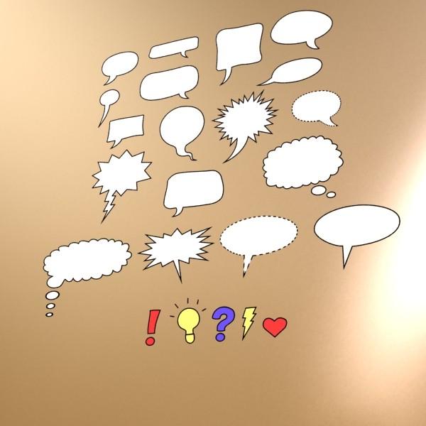 23 ярианы цуглуулгатай бөмбөлөгүүд. 3d загвар 3ds max fbx obj 132129