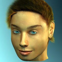 3D Model Female Head ( 85.08KB jpg by VKModels )