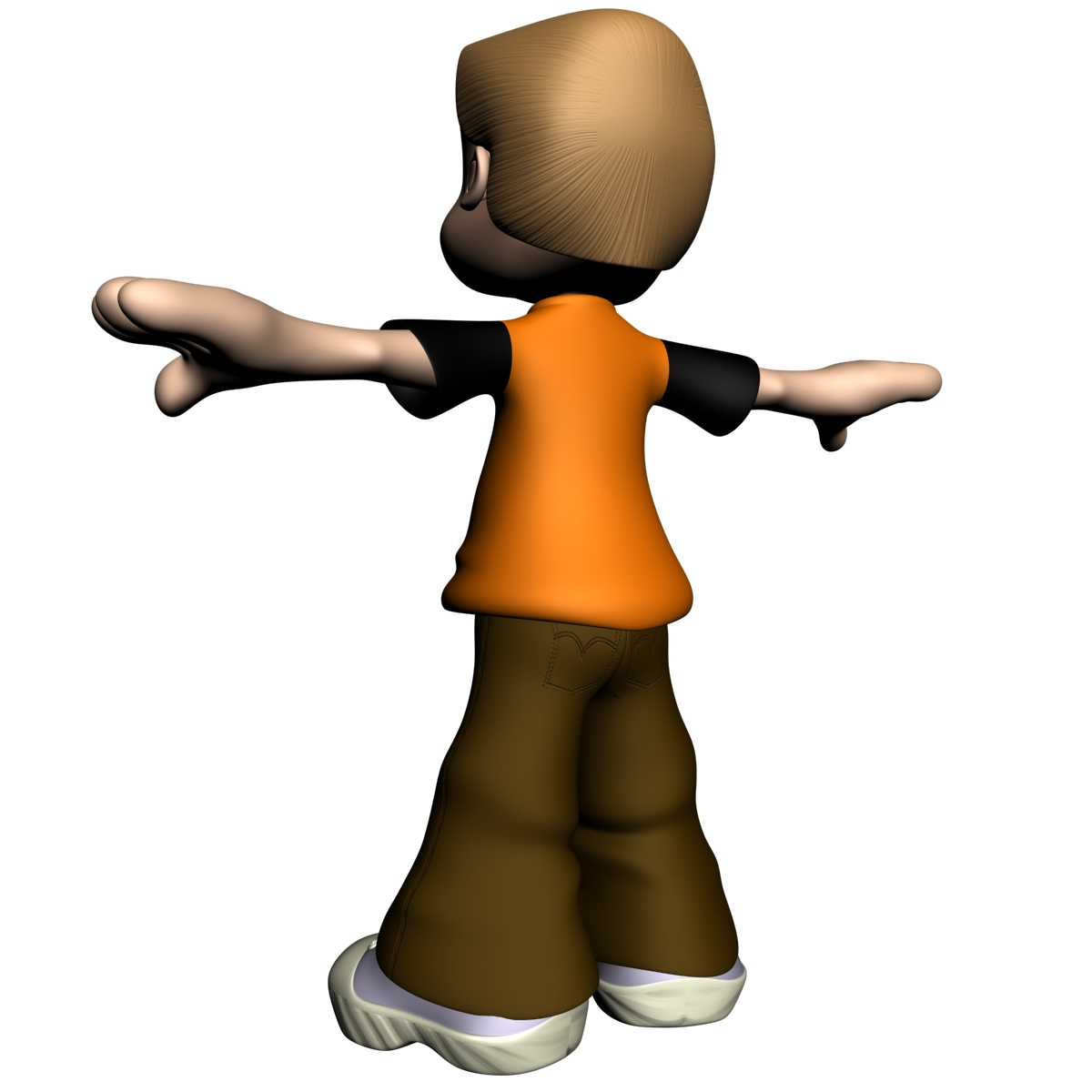 Cartoon Boy Rigged 3d Model - Cartoon-boy-images-free