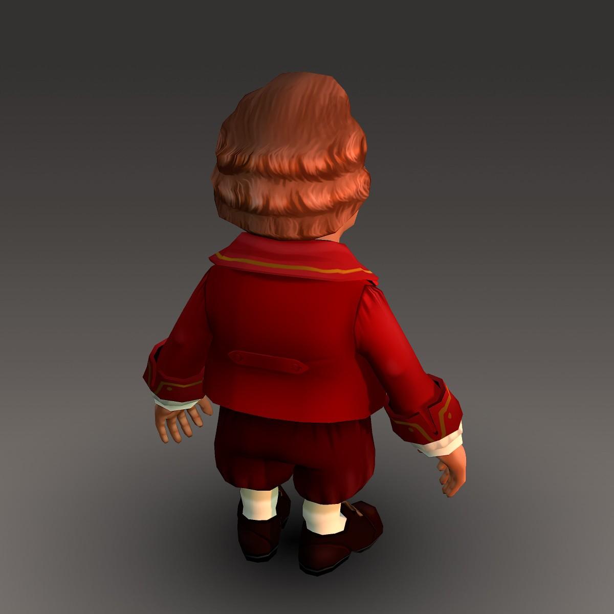 хүүхэлдэйн киноны иргэний эрэгтэй 3d загвар max fbx ma mb 157269