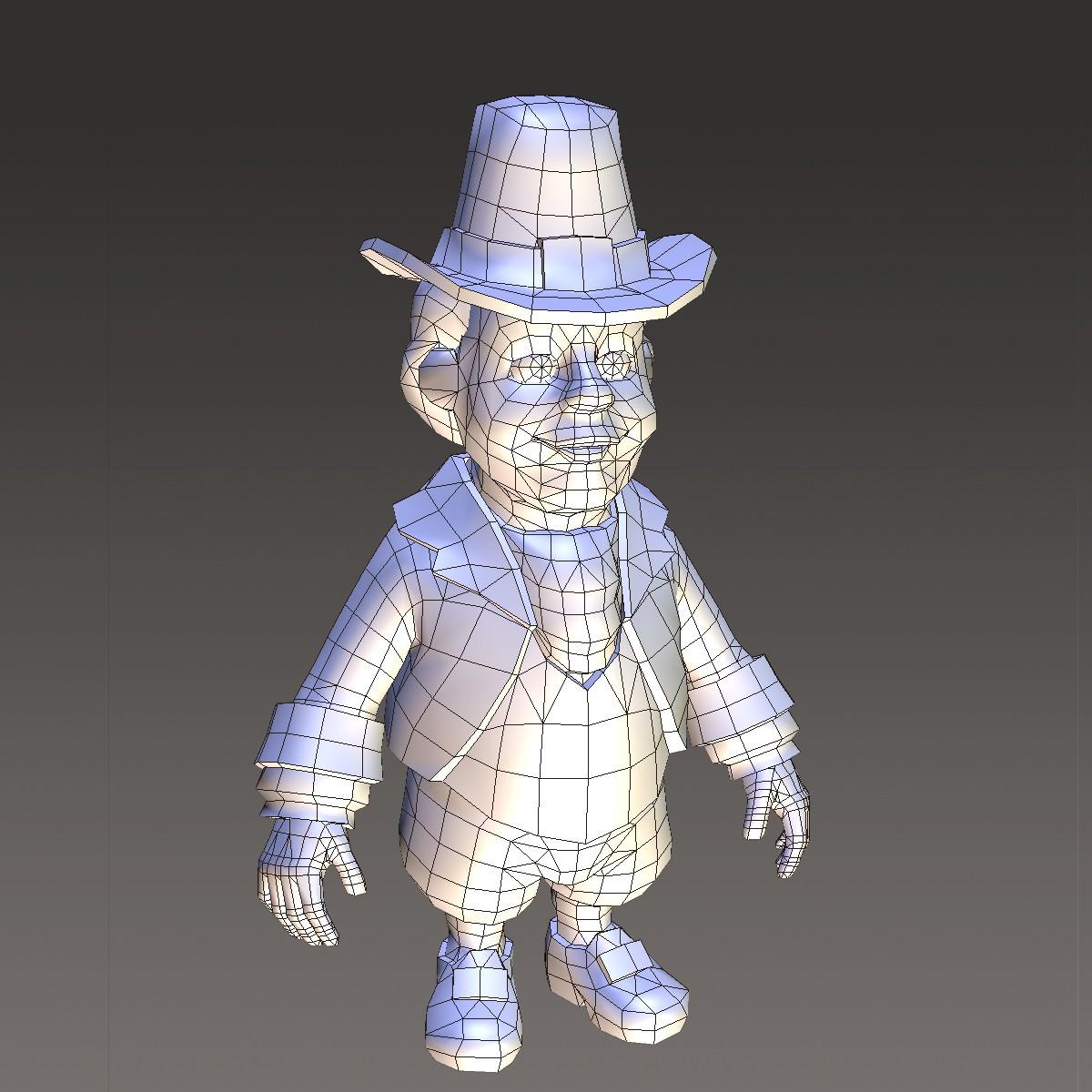 хүүхэлдэйн киноны иргэний эрэгтэй 3d загвар max fbx ma mb 157273