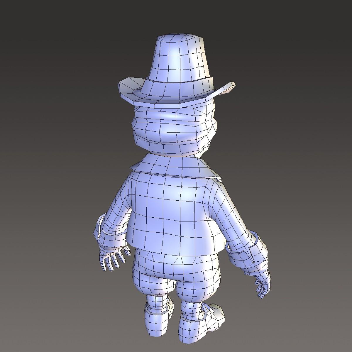 хүүхэлдэйн киноны иргэний эрэгтэй 3d загвар max fbx ma mb 157274