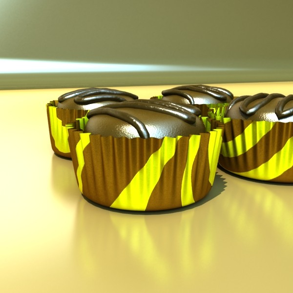chocolate candy 01 3d model 3ds max fbx obj 132272