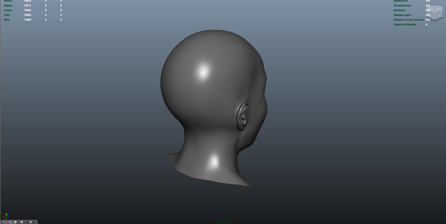 face 3d model fbx ma mb obj 153414