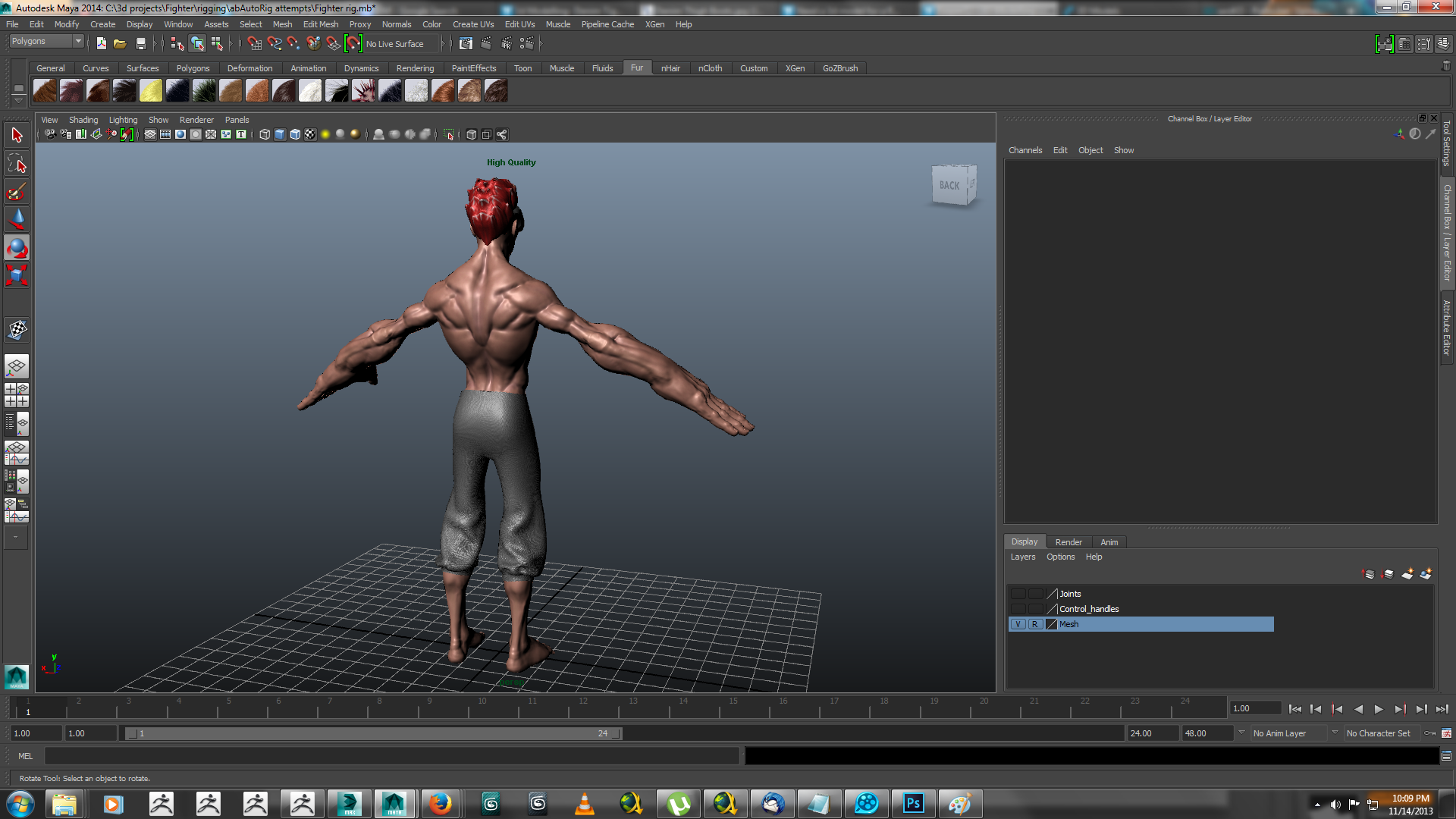 heavy hitter rigged 3d model ma mb 158418