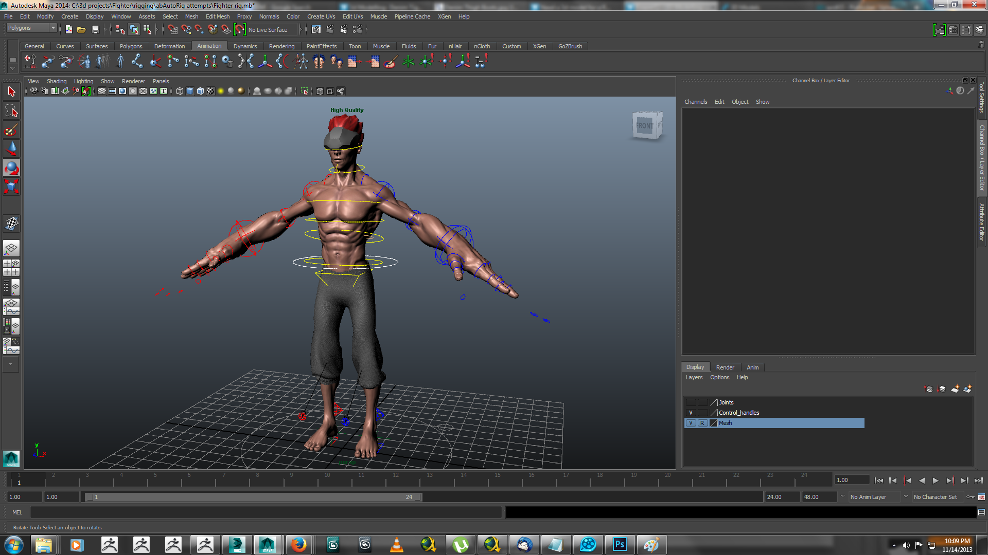 heavy hitter rigged 3d model ma mb 158419