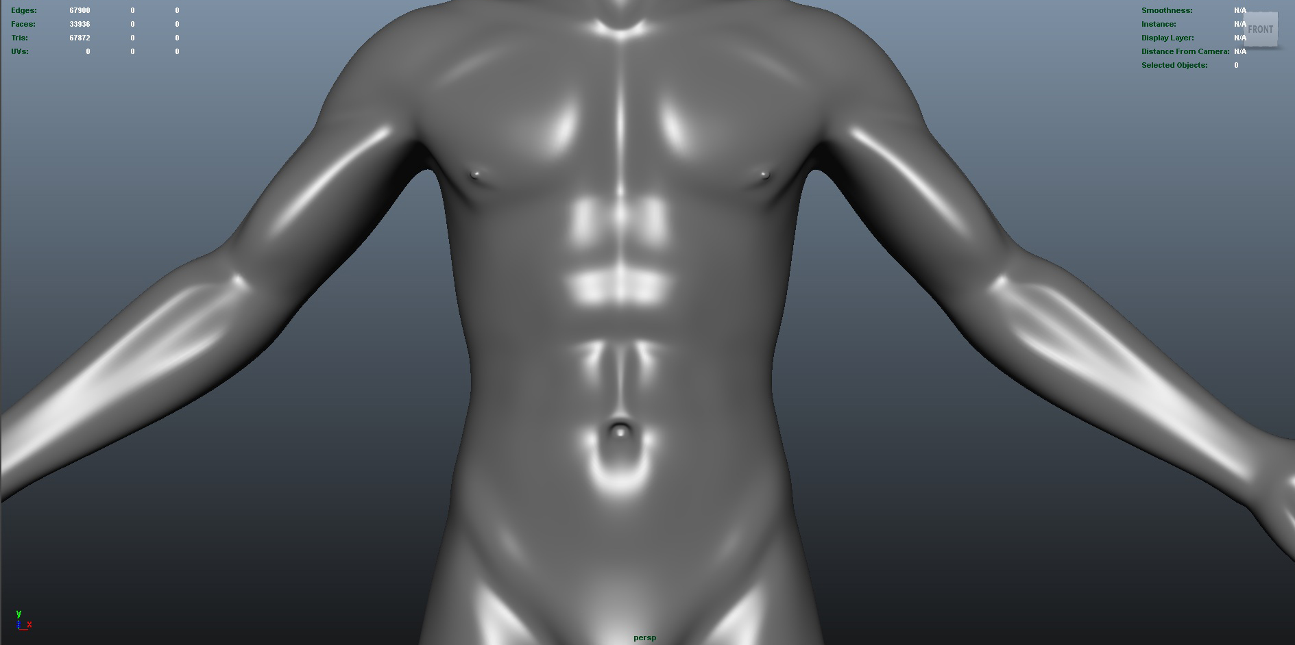 male 3d model fbx dae ma mb obj 153268