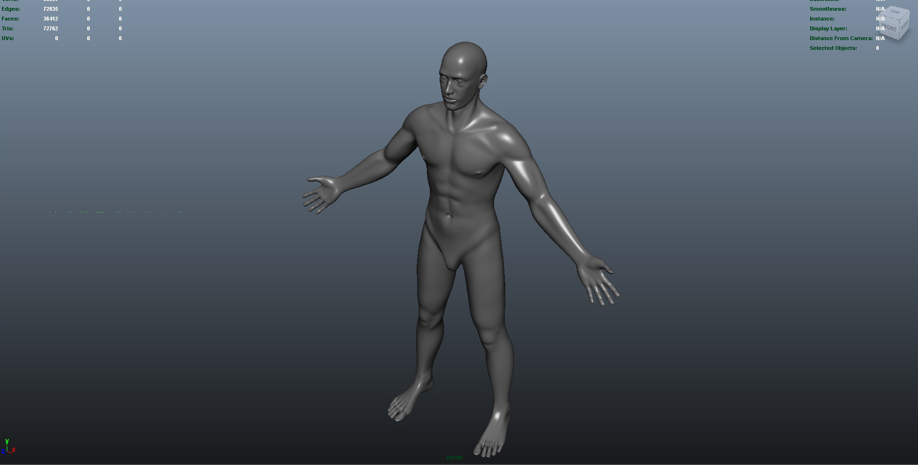 male 3d model fbx dae ma mb obj 153273