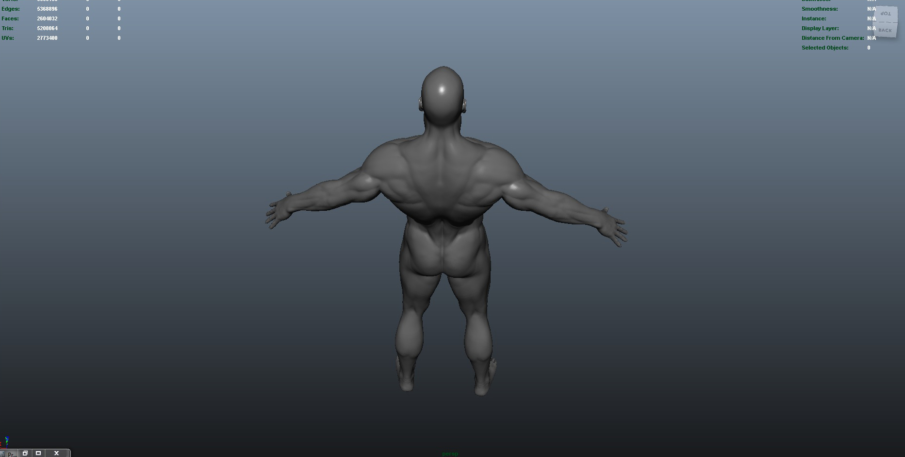 male 3d model ma mb obj 153418
