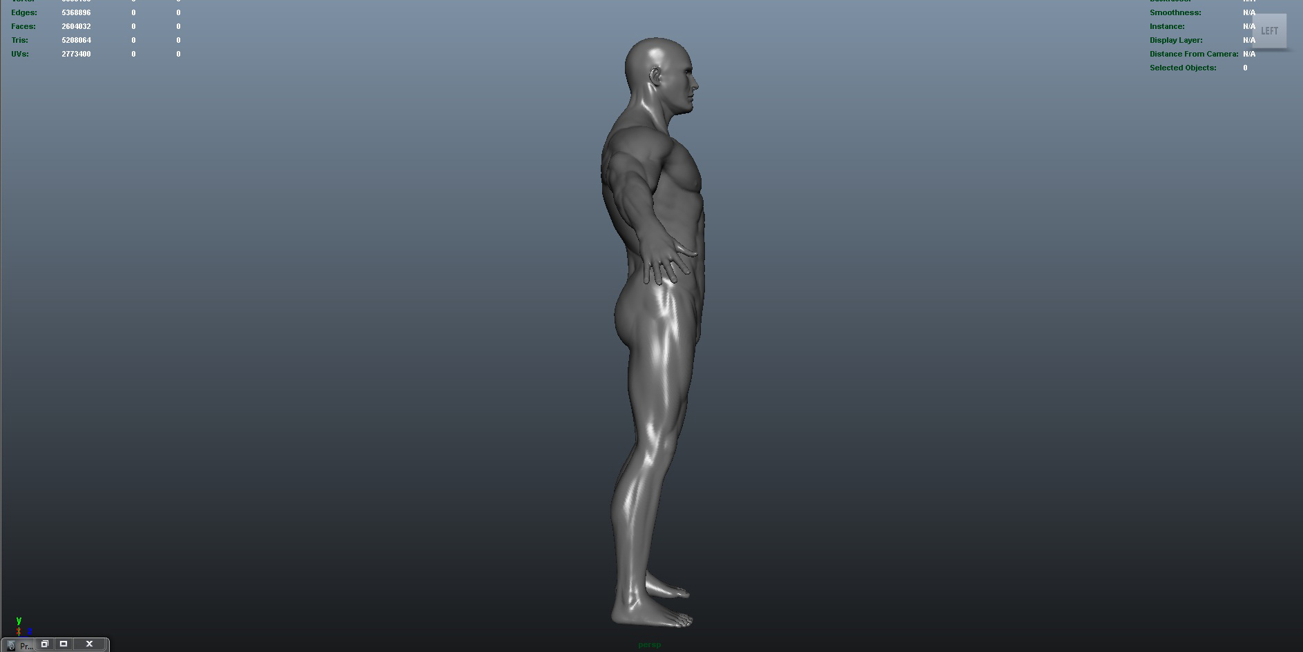 male 3d model ma mb obj 153419