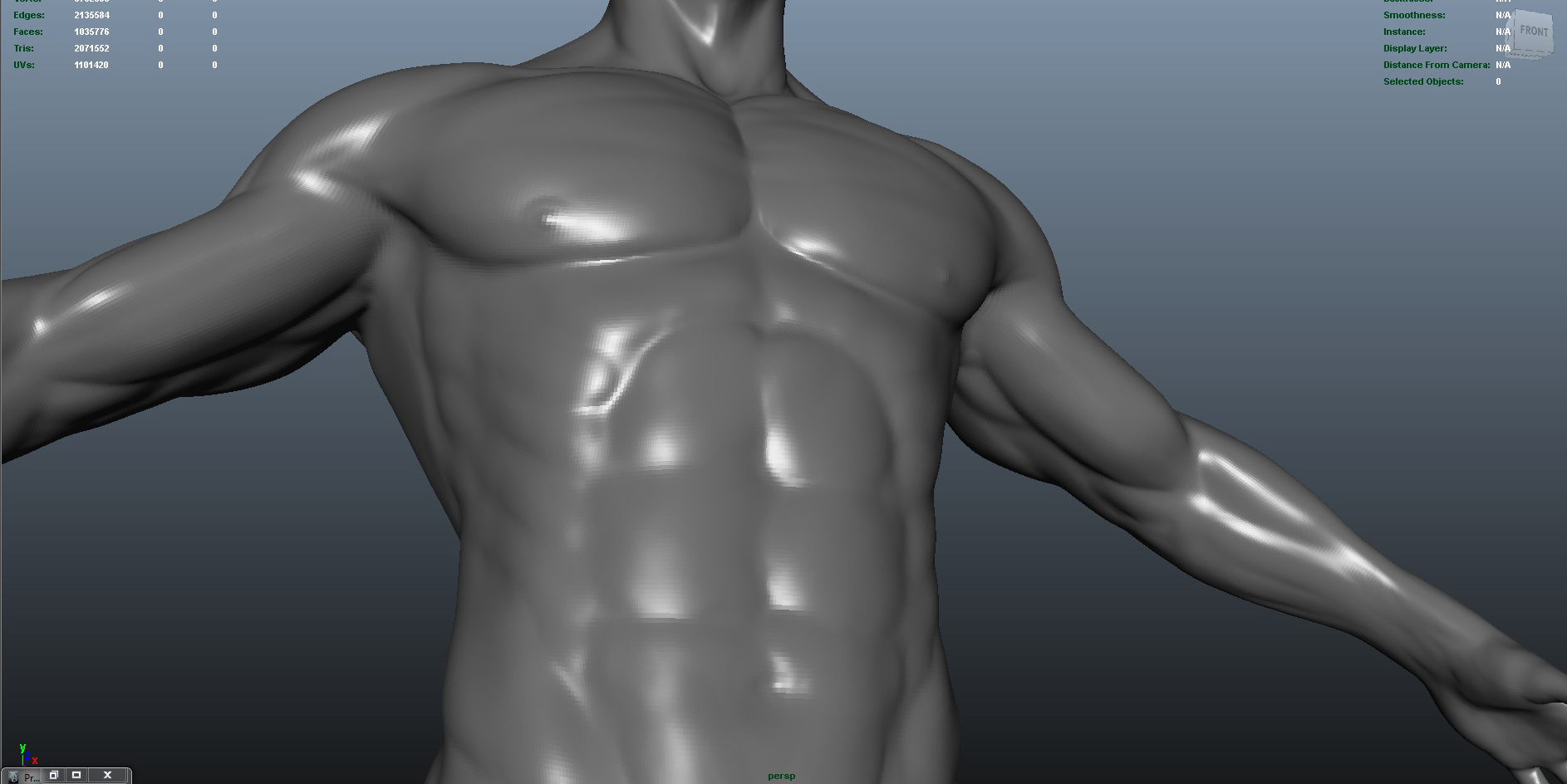 male 3d model ma mb obj 153420