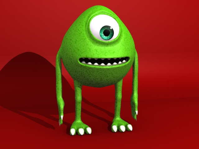 monster 3d model 3ds max fbx 153790