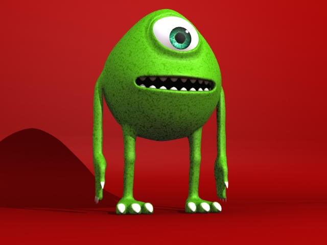 monster 3d model 3ds max fbx 153791