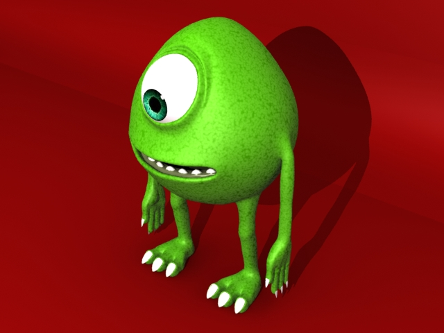 monster 3d model 3ds max fbx 153792
