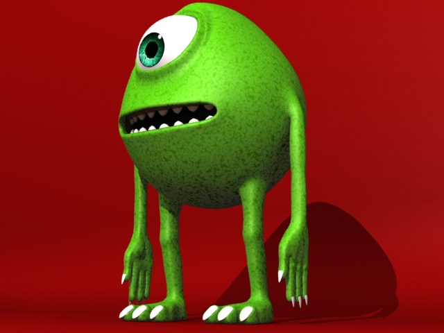 monster 3d model 3ds max fbx 153793