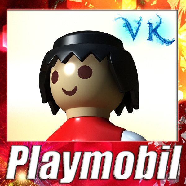 playmobil igračka 3d model 3ds max fbx obj 135855