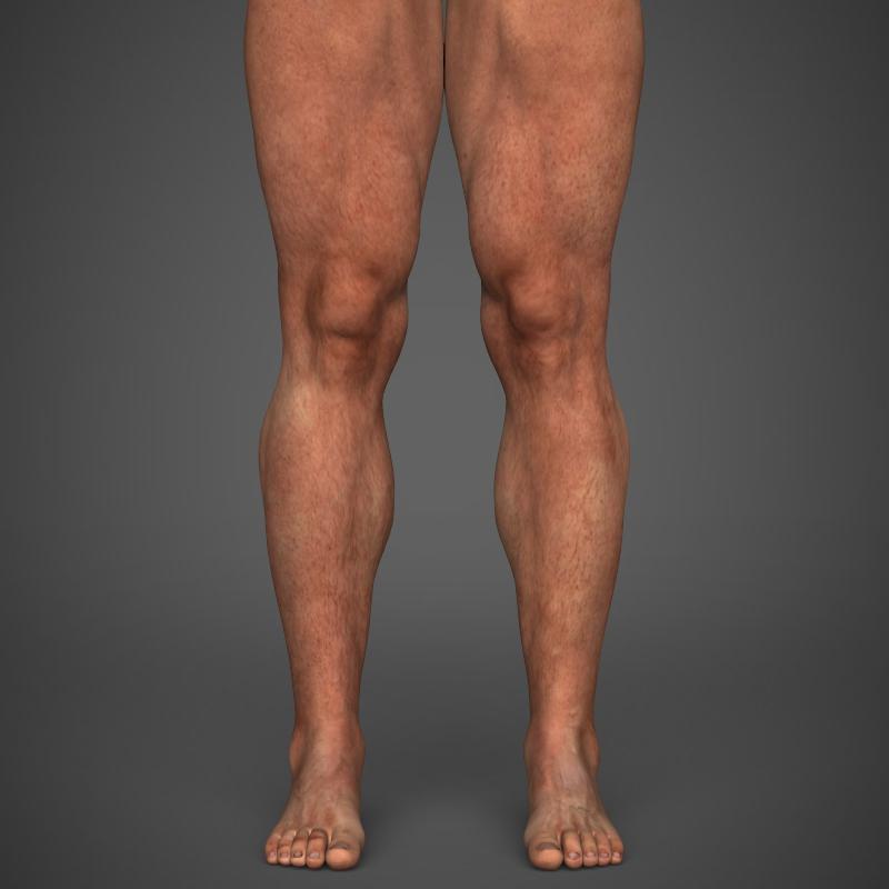 realistic bodybuilder man 3d model 3ds max fbx c4d l3d ma mb texture obj 161343