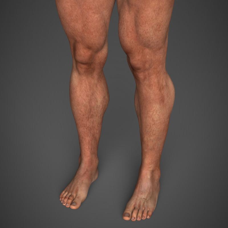 realistic bodybuilder man 3d model 3ds max fbx c4d l3d ma mb texture obj 161344