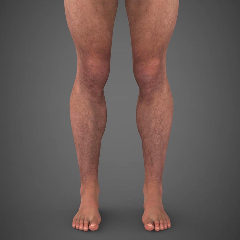 realistic young muscular man – #2 3d model 3ds max fbx c4d lwo ma mb texture obj 161470