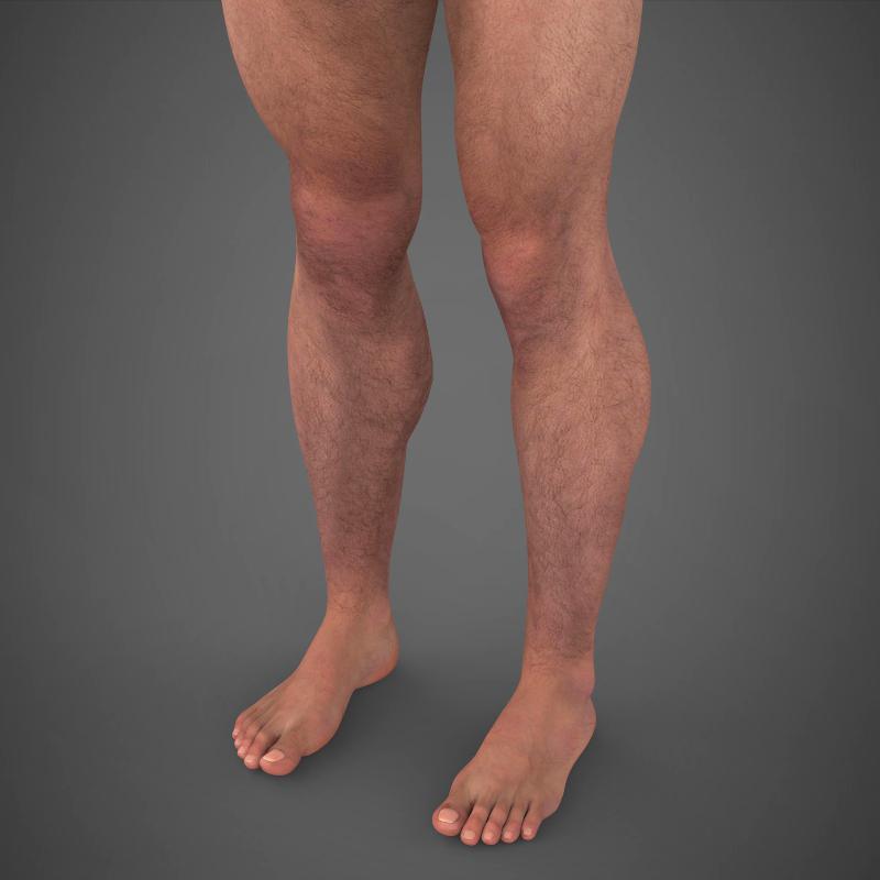 realistic young muscular man – #2 3d model 3ds max fbx c4d lwo ma mb texture obj 161471