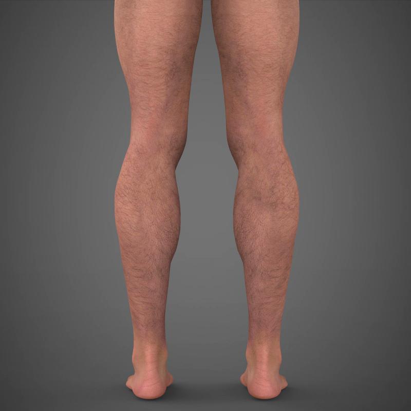 realistic young muscular man – #2 3d model 3ds max fbx c4d lwo ma mb texture obj 161475