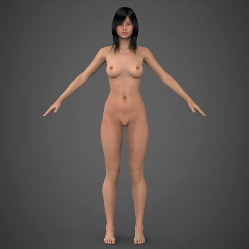 Realistic Beautiful Girl ( 111.12KB jpg by cghuman )