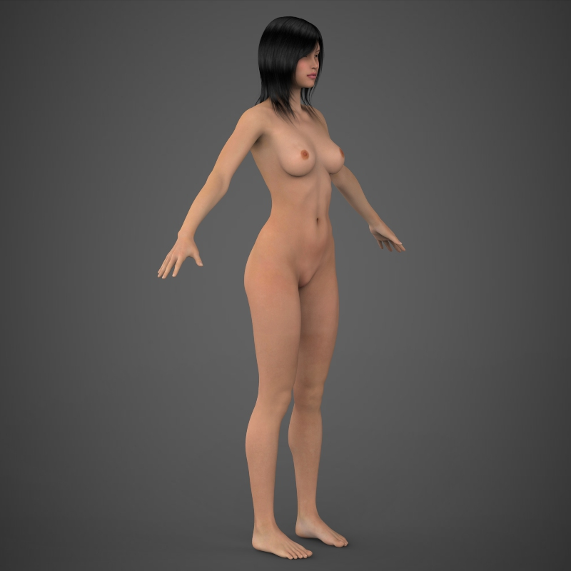 Realistic Beautiful Girl ( 105.96KB jpg by cghuman )