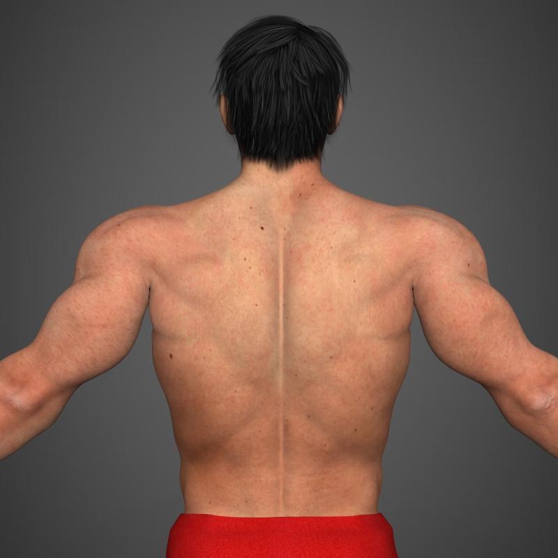 Realistic Bodybuilder Man ( 194.39KB jpg by cghuman )