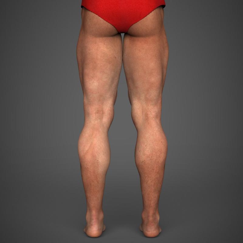 Realistic Bodybuilder Man ( 145.15KB jpg by cghuman )