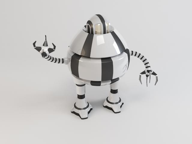 robots d3b9 3d modelis 3ds max fbx obj 119714