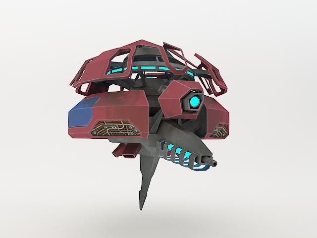 robot fl-130 3d model 3ds max fbx obj 157261