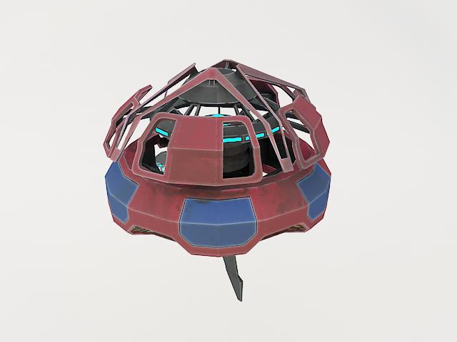 robot fl-130 3d model 3ds max fbx obj 157264