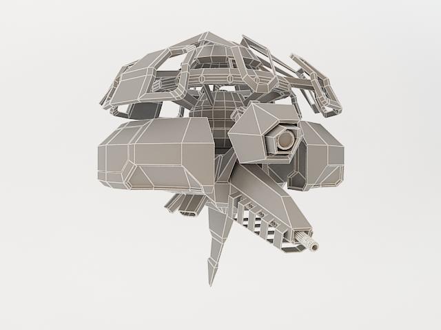 robot fl-130 3d model 3ds max fbx obj 157265