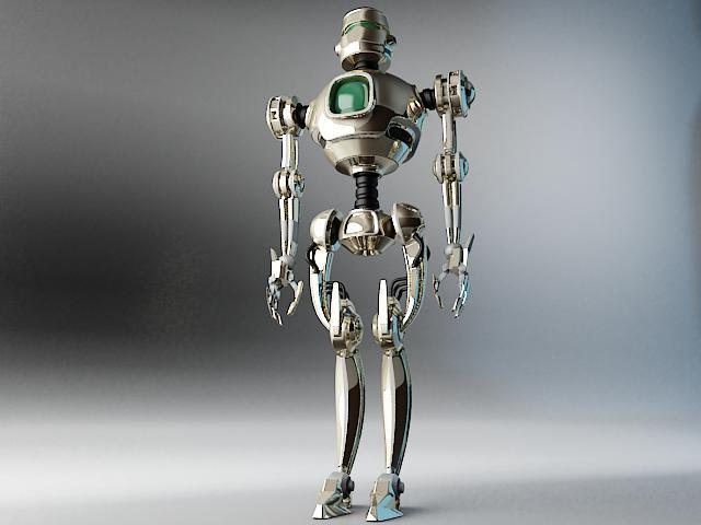 robots pl270 3d modelis 3ds max fbx obj 141940