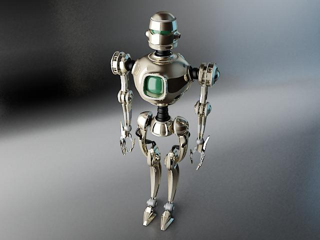 robots pl270 3d modelis 3ds max fbx obj 141941