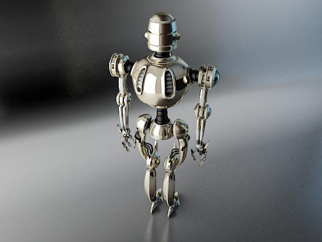 robots pl270 3d modelis 3ds max fbx obj 141942