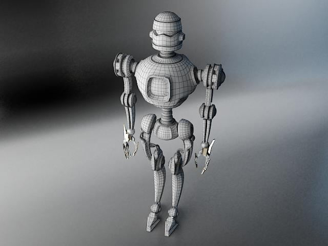 robots pl270 3d modelis 3ds max fbx obj 141943
