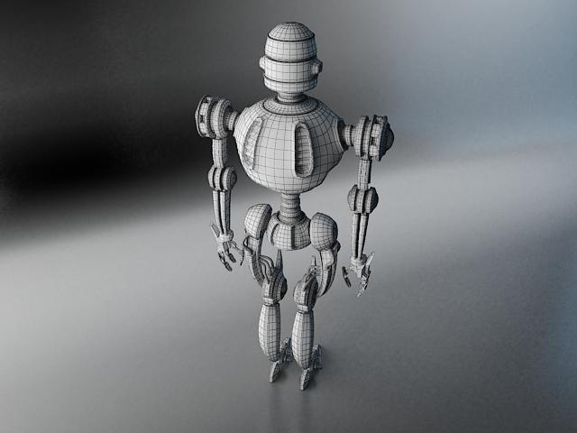 robots pl270 3d modelis 3ds max fbx obj 141944