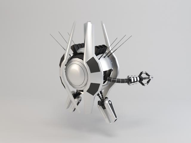 robot trs250 model 3d 3ds max fbx obj 119490