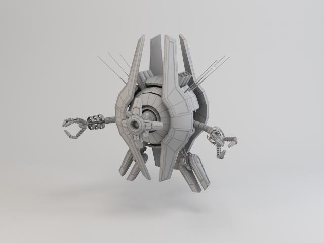 robot trs250 model 3d 3ds max fbx obj 119491