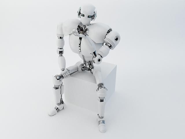 robot z300 (fersiwn well) Model 3d 3ds max fbx obj 139440
