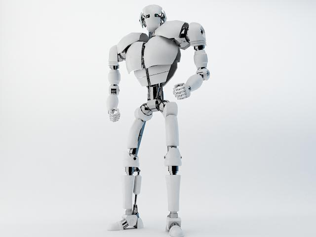 robot z300 (improved version) 3d model 3ds max fbx obj 139441