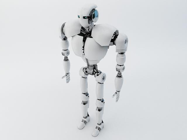 robot z300 (improved version) 3d model 3ds max fbx obj 139442