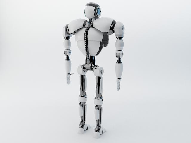 robot z300 (improved version) 3d model 3ds max fbx obj 139443