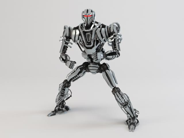 model robot zeg4000 3d 3ds max fbx obj 119769