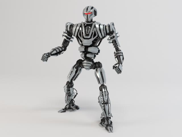 model robot zeg4000 3d 3ds max fbx obj 119770